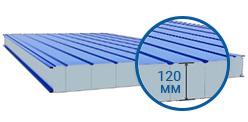 Сэндвич-панель стеновая 120 мм