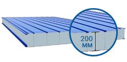 Сэндвич-панель стеновая 200 мм