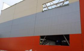 Строительство из сэндвич-панелей «Торговый центр Люберцы»